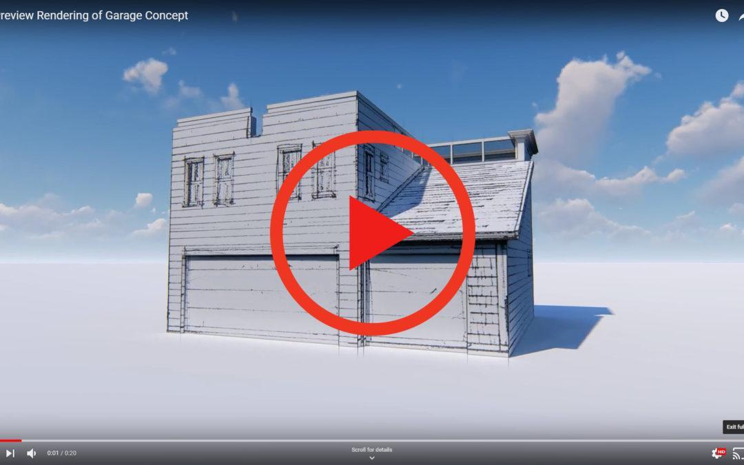 Orbit Around Garage Concept
