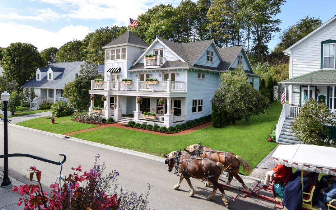 The Mackinac House – Final Exteriors