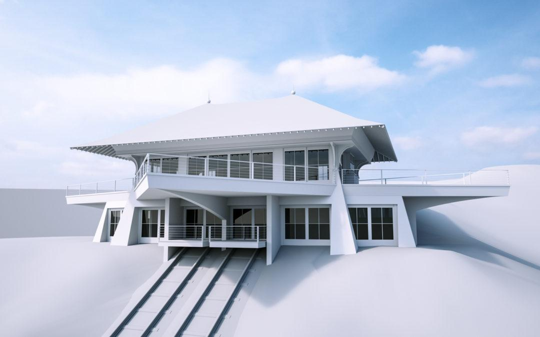 Lakeview House 3D Model