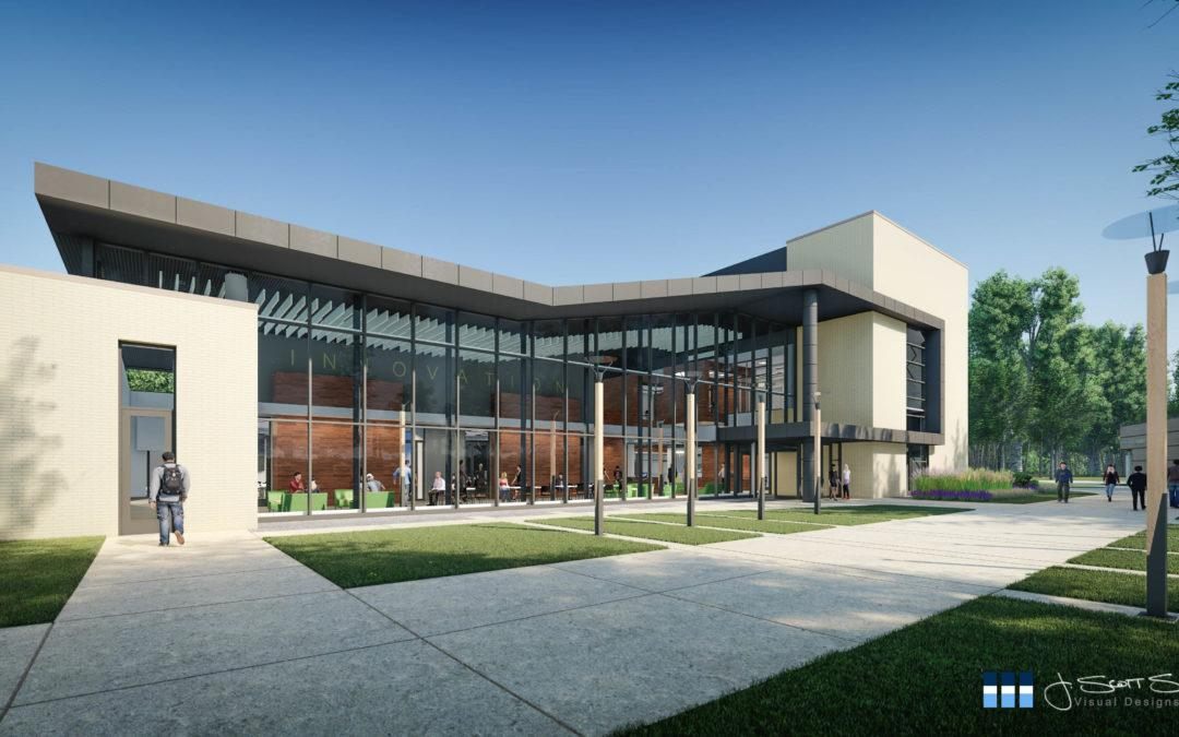 Architectural Rendering: NMC Innovation Center