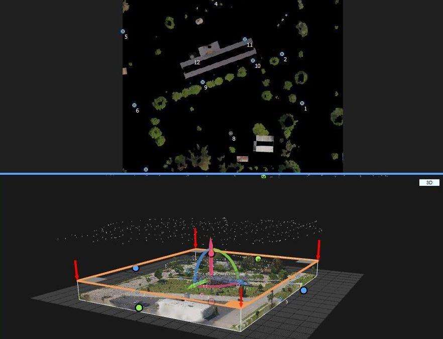 3D Site Analysis: The Evart Depot