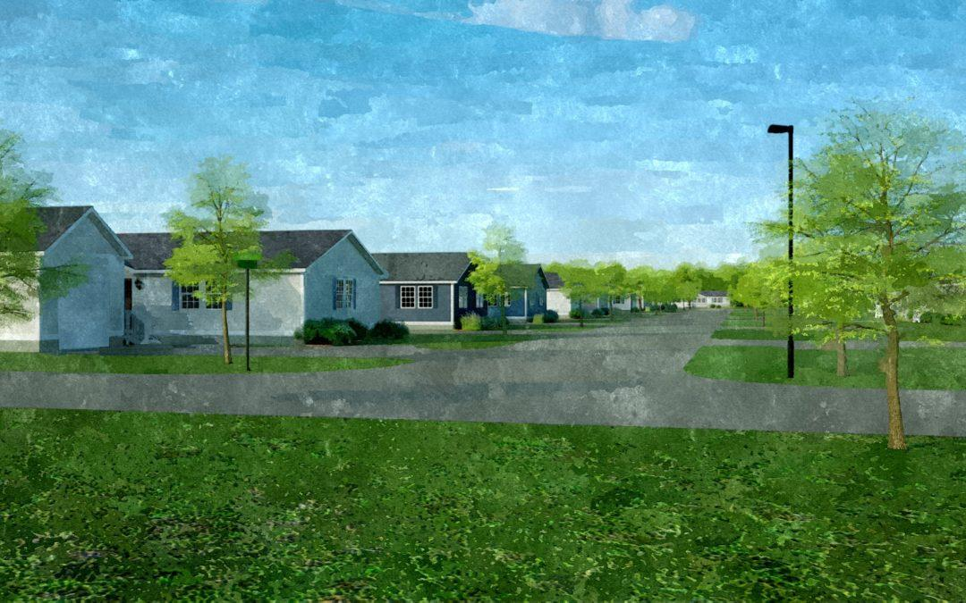 Architectural Renderings: Mobile Home Development