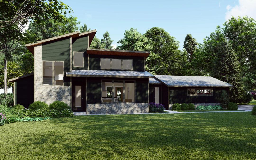 Architectural Renderings: Oak Rise Development