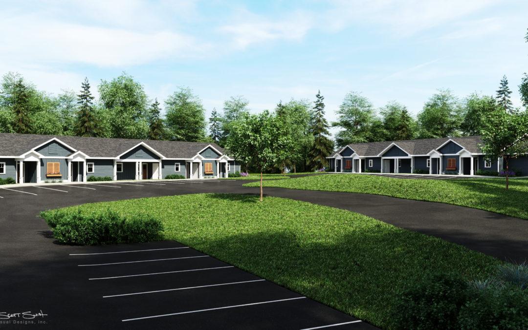Architectural Renderings: Michigan Apartment Complex