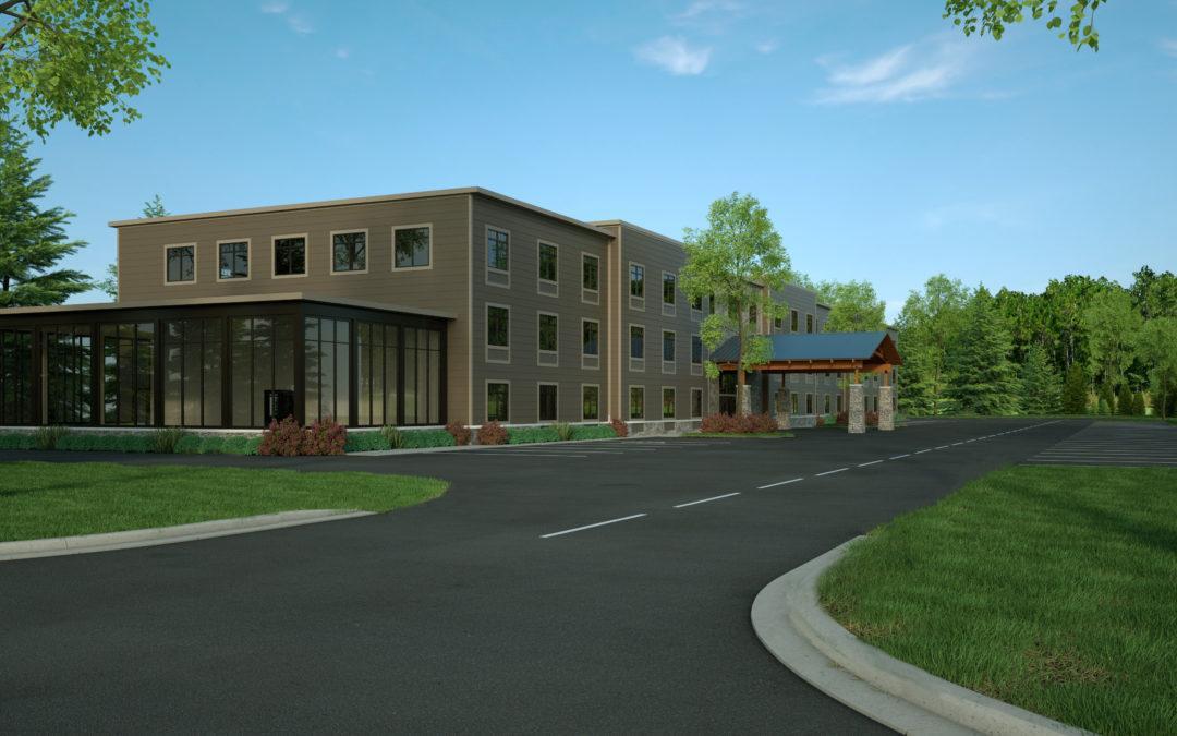Architectural Renderings: Elmwood Hotel