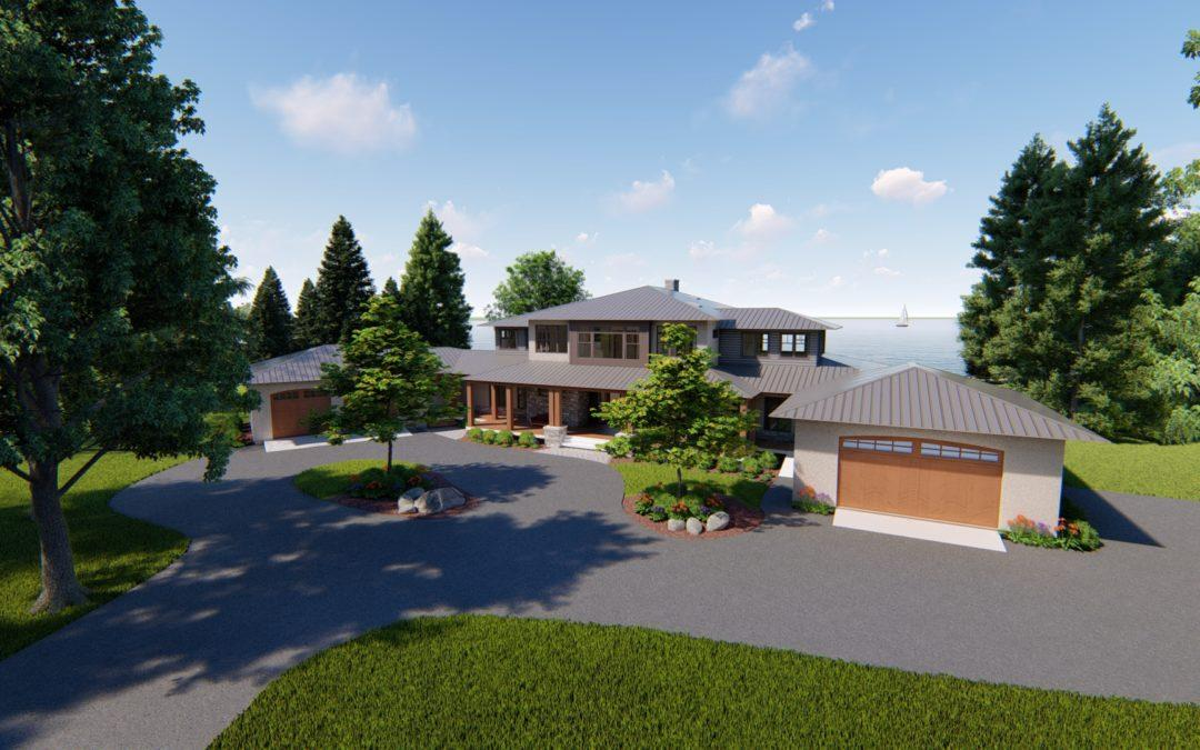 Architectural Renderings: Roof Options