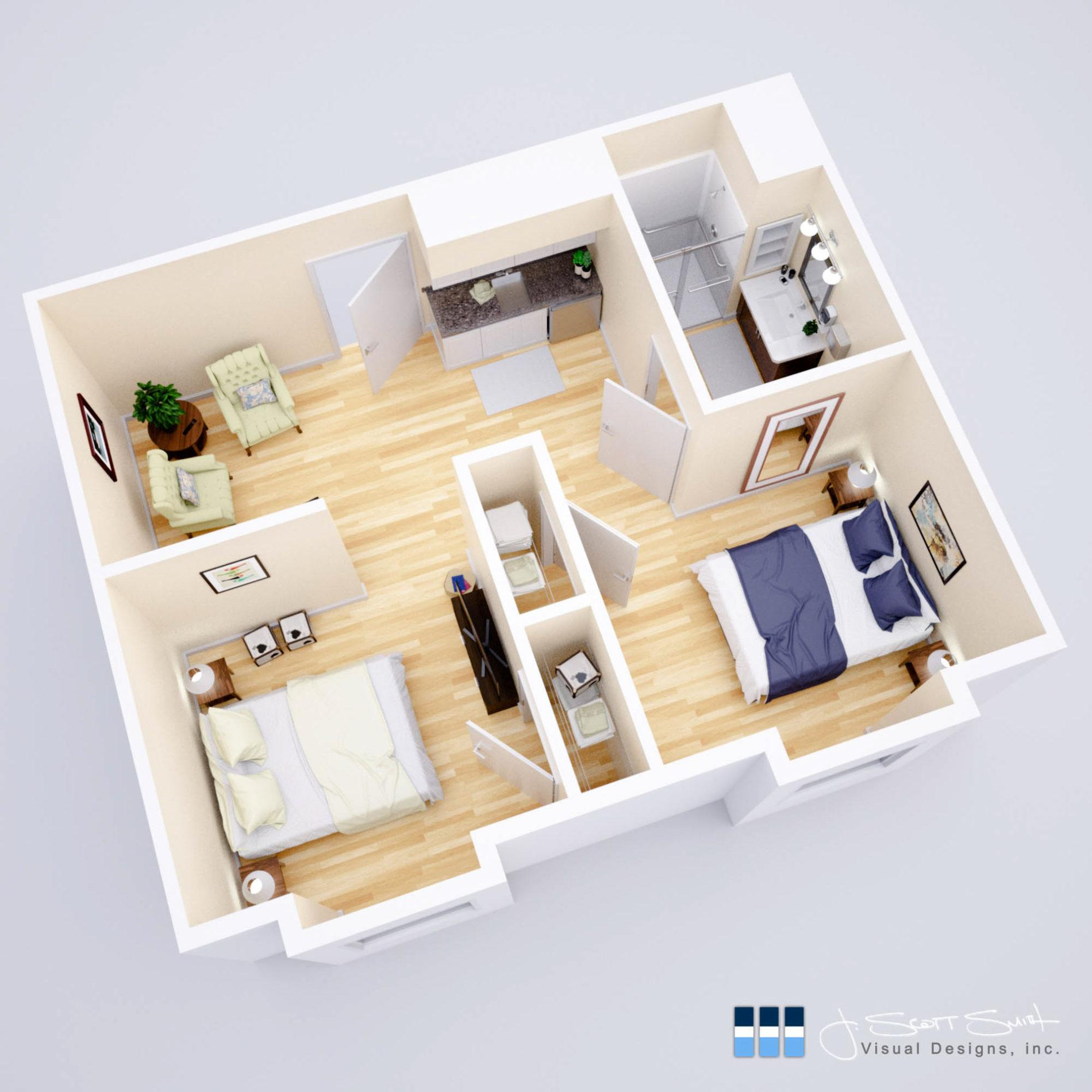 18-011 - v08 (2 bedroom unit)_LR_WEB