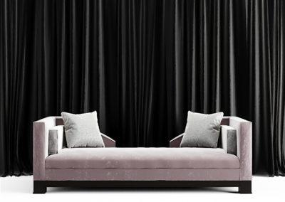 18-047 - Velvet Couch