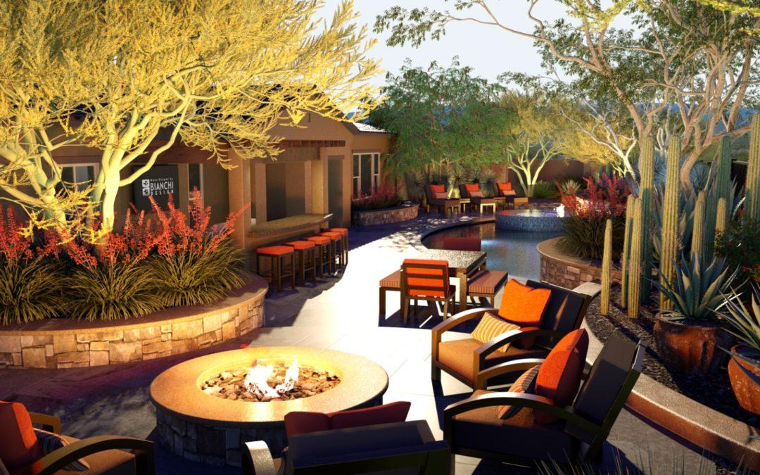 Architectural Renderings: Desert Oasis