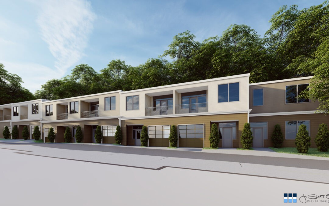 Architectural Renderings: Building 57