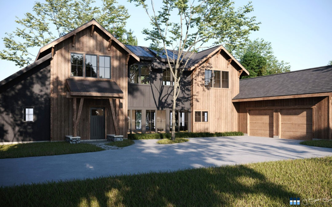 Architectural Renderings: Siding Choices