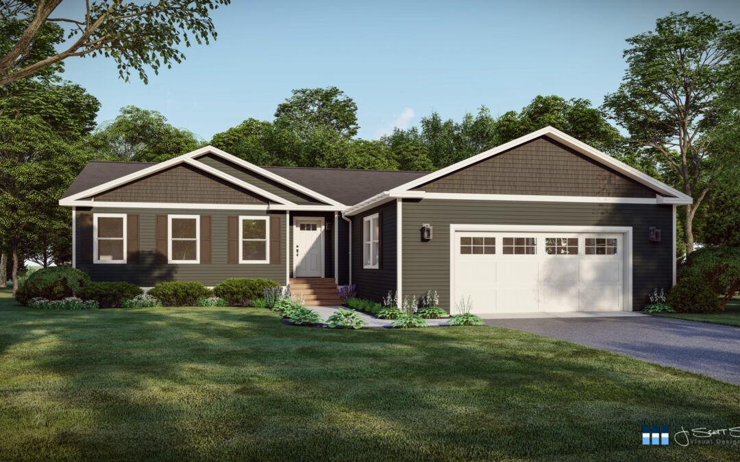 Architectural Renderings: Siding Colors